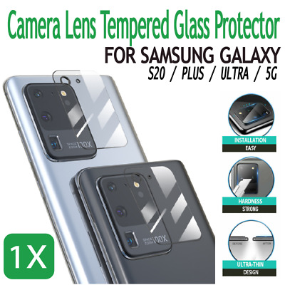 AU2.69 • Buy Galaxy S20 FE Plus Note 20 Ultra Camera Lens Tempered Glass Protector Samsung