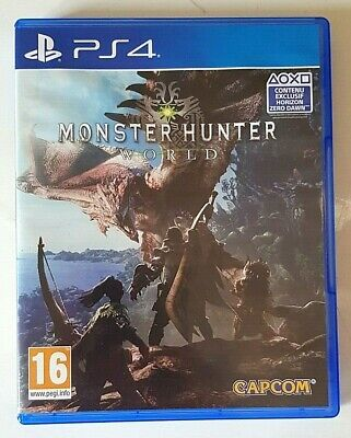 AU15.47 • Buy Monster Hunter World - PlayStation 4 PS4