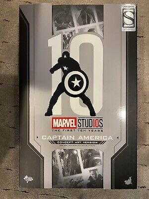 $ CDN340.74 • Buy Hot Toys Sideshow Exclusive Captain America Marvel 10 Year Concept Art MMS488