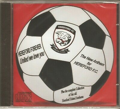 £3.50 • Buy  Hereford United / Fc Collection Of Anthems On Cd