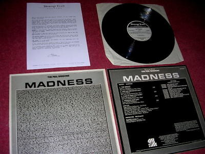 Madness - The Peel Sessions + Press Sheet - 1987 Uk 12  - Suggs Ska Two 2 Tone • 34.99£