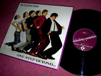 MADNESS - ONE STEP BEYOND - UK 12  SINGLE - STIFF RECORDS - Suggs Ska Two 2 Tone • 27.50£