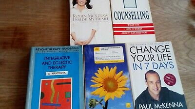 Selection Of Cognitive And Other Therapy Books Counselling • 25£