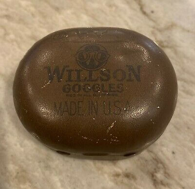 $10.99 • Buy Willson Goggles Antique Empty Tin Container Made In USA World War One 1910's Era