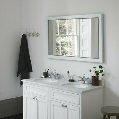 Burlington Framed 120 Mirror With LED Illumination - Matt White RRP £529 M12MW • 339.99£