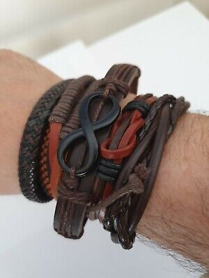 Men's Bracelet ANA Collection Series 2 Fashion Jewelry • 5.50£