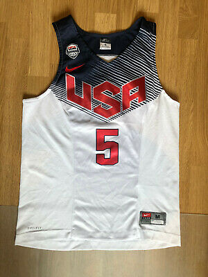 Kevin Durant USA Basketball Team 2014 Nike Authentic Jersey NBA Size M • 43£