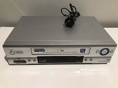 AU99.95 • Buy LG EC990SW VCR VHS PLAYER RECORDER Good Working Order NO REMOTE