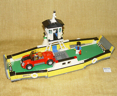 £24.99 • Buy LEGO Sets: Town: City: Harbor: 60119-1 Ferry (2016) 100% W/all MINIFIGS Car Boat