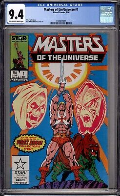$45 • Buy Masters Of The Universe 1 CGC Graded 9.4 NM Star Comics 1986