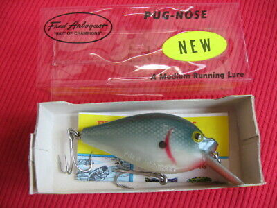$ CDN26.60 • Buy Vintage Fred Arbogast PUG NOSE Fishing Lure 5/8 Oz. - New In Box