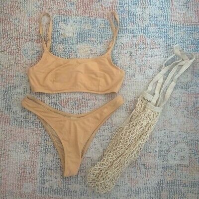 AU70 • Buy Zulu And Zephyr Cotton Bikini Set Size Xs (8)