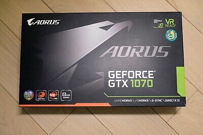 $ CDN386.67 • Buy GIGABYTE AORUS GeForce GTX 1070 8GB Gaming Graphics Card