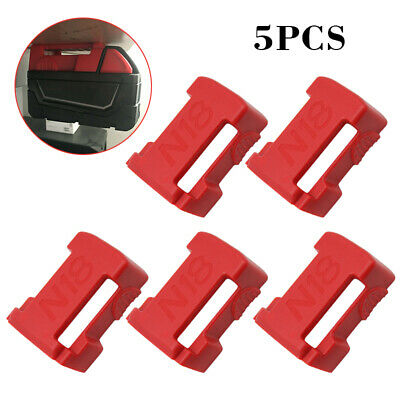 AU21.99 • Buy 5pcs Milwaukee 18V M18 Battery Holder Mount Bracket Storage Shelf Rack Slots