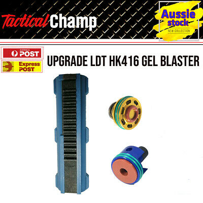 AU40.81 • Buy Upgrade LDT HK416 Gel Blaster Part Ladder Piston Plunger Head Nozzle Gearbox Kit
