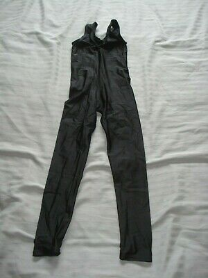 1 X Black Sleeveless Catsuit Tappers & Pointers Age 5 Dance Used • 2.50£