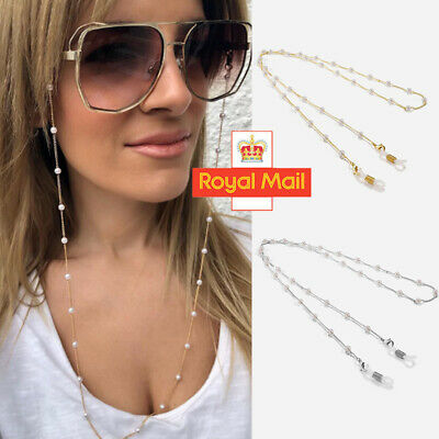 Eye Glasses Spectacles Sunglasses Eyewear Chain Lanyard Necklace Holder Cord L • 3.28£