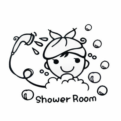 Shower Room, Bathroom Wall Art Sticker,Home Decor, Quality DIY Decal Quotes • 3.99£