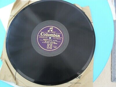 THE SAVOY ORPHEANS  American Medley  1923 (E+) 12  COLUMBIA 969 [78 RPM] • 8£