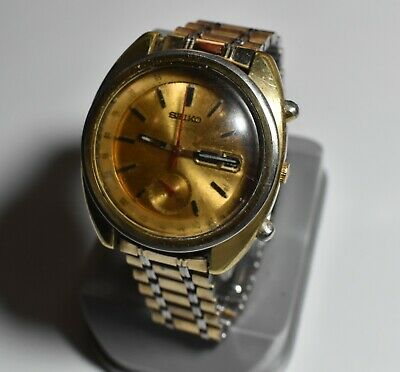 $ CDN375.42 • Buy Vintage Seiko Chronograph Watch Japan A 6139-6012 Water Resistant(Working)