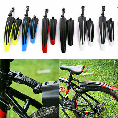 £6.99 • Buy Bicycle Cycling Front Rear Mudguards Mud Set Mountain Bike Tire Fenders DIY