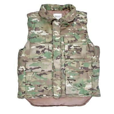 Body Warmer Fishing Hunting Army Combat Military Camo Multicam Padded Vest MTP • 19.90£