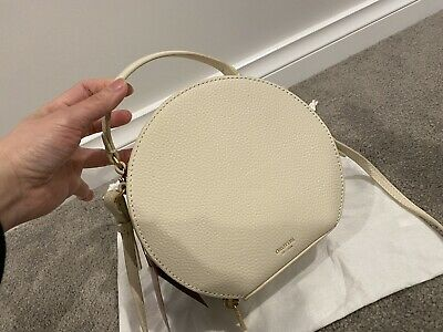AU149 • Buy BNWT Oroton Capri-circle Crossbody Bag Cream