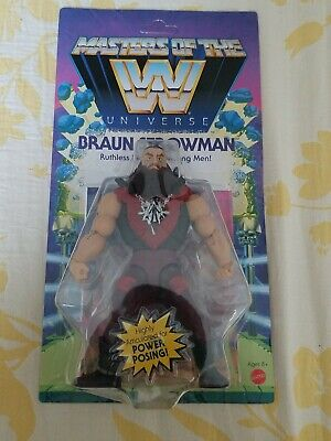 $24.99 • Buy WWE Masters Of The Universe BRAUN STROWMAN Action Figure MOTU 2020 NEW Wave 3