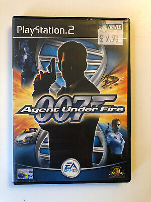 James Bond 007: Agent Under Fire PS2  (Sony PlayStation 2, 2001) • 3.99£