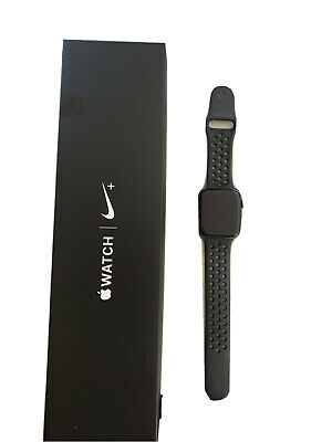$ CDN233.85 • Buy Apple Watch Series 4 Nike+ 44 Mm Space Gray Aluminum Case With Anthracite/Black