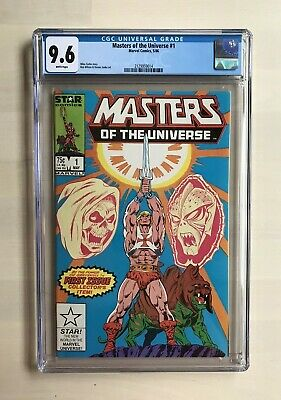 $115 • Buy Masters Of The Universe #1 - CGC 9.6 (Marvel/Star Comics, 1986)
