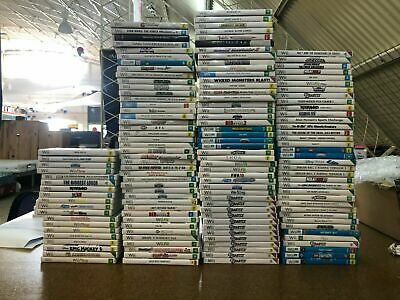 AU39 • Buy Assorted Nintendo Wii / Wii U Games #2 - No Manuals -  More Games In Our Store