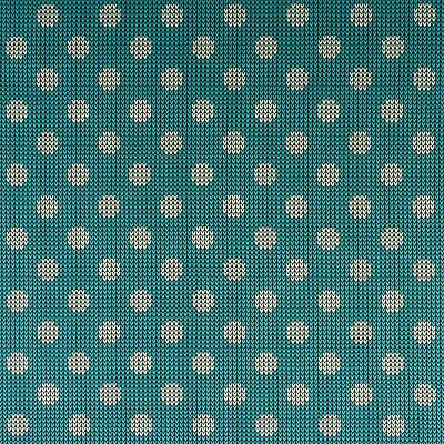 Cotton Jersey Knitted Look Turquoise Damenstoff Material Kid's Fabric (Price = • 5.02£