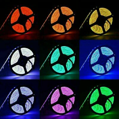 AU13.98 • Buy 1m 2m 5m USB LED Strip Lights 5050 RGB TV LED Strip With Remote Controller