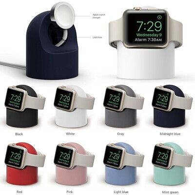 $ CDN8.74 • Buy For Apple Watch IWatch Series 6 5 4 3 2 1 Wireless Charger Dock Stand Holder