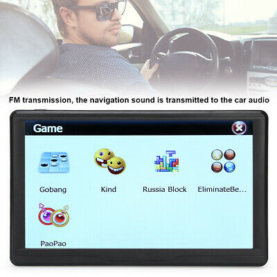 AU99.32 • Buy 7 Inch Truck Car GPS Navigation Sat Nav Multimedia Navigator + Free Lifetime Map