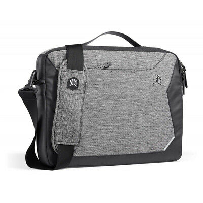 STM Myth Briefcase Bag Cover For 15  Laptop / Notebook - Granite Black • 69.95£