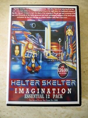 Helter Skelter - Imagination NYE 96 - 12 CD Pack (Fantazia, Dreamscape) • 15£