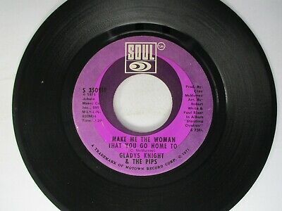 £2.16 • Buy Gladys Knight & The Pips Make Me The Woman That You Go Home To 45 Soul 1971