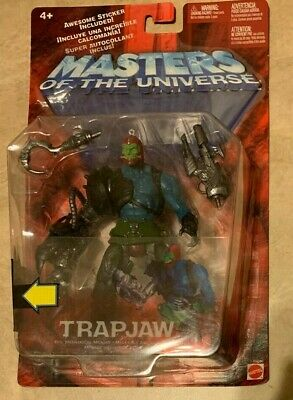 $45.95 • Buy Mattel Masters Of The Universe Trapjaw Evil Mechanical Menace NEW Factory Sealed