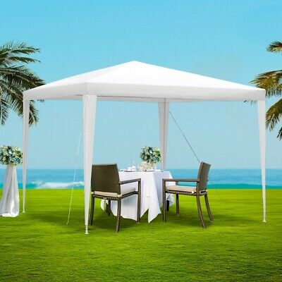 AU47.50 • Buy Instahut Wedding Gazebo Outdoor Marquee Party Tent Event Canopy Camping 3x3 New