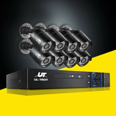 AU195.90 • Buy UL-tech CCTV Home System Security Camera 8CH DVR 1080P HD Outdoor IP Day Night