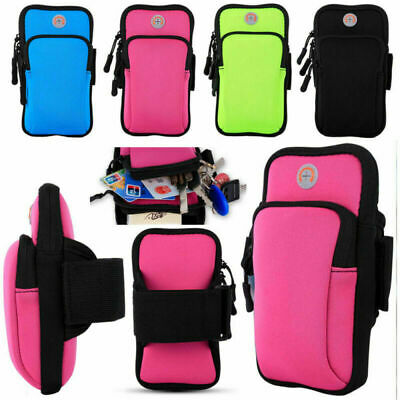 AU15.99 • Buy Armband Pouch Case Sports GYM Running Exercise Arm Band Holder For Mobile Phones