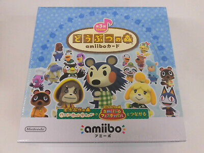 AU254.32 • Buy Nintendo Animal Crossing Amiibo Card Pack 3rd Series Box Japan NEW