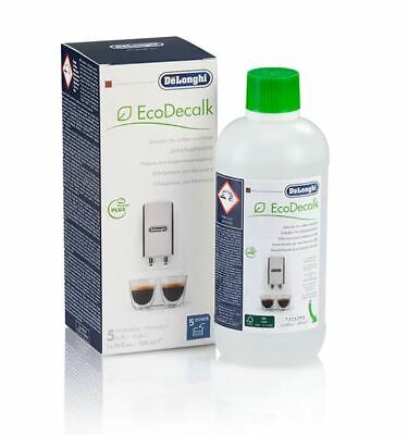 AU33.90 • Buy DeLonghi Descaler Cleaner EcoDecalk Coffee Cleaning Solution 500ml (DLSC500)