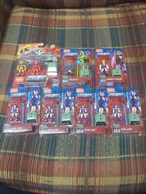 $29.99 • Buy Mega Construx Masters Of The Universe Lot Of 7 Pro Builders Figure NEW