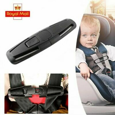 Car Safety Seat Harness Strap Anti Escape Chest Clip Buggy NO THREADING Buckle • 2.99£