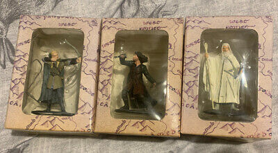 Lord Of The Rings Figures Bundle Gandalf The White Aragorn Legolas • 18£