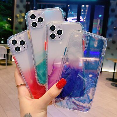 AU13.66 • Buy Marble Silicone Clear Phone Case Cover For IPhone 11 Pro Max XS XR X 8 7 Plus