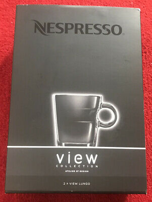 Nespresso View Collection Lungo Cups X 2 • 15£